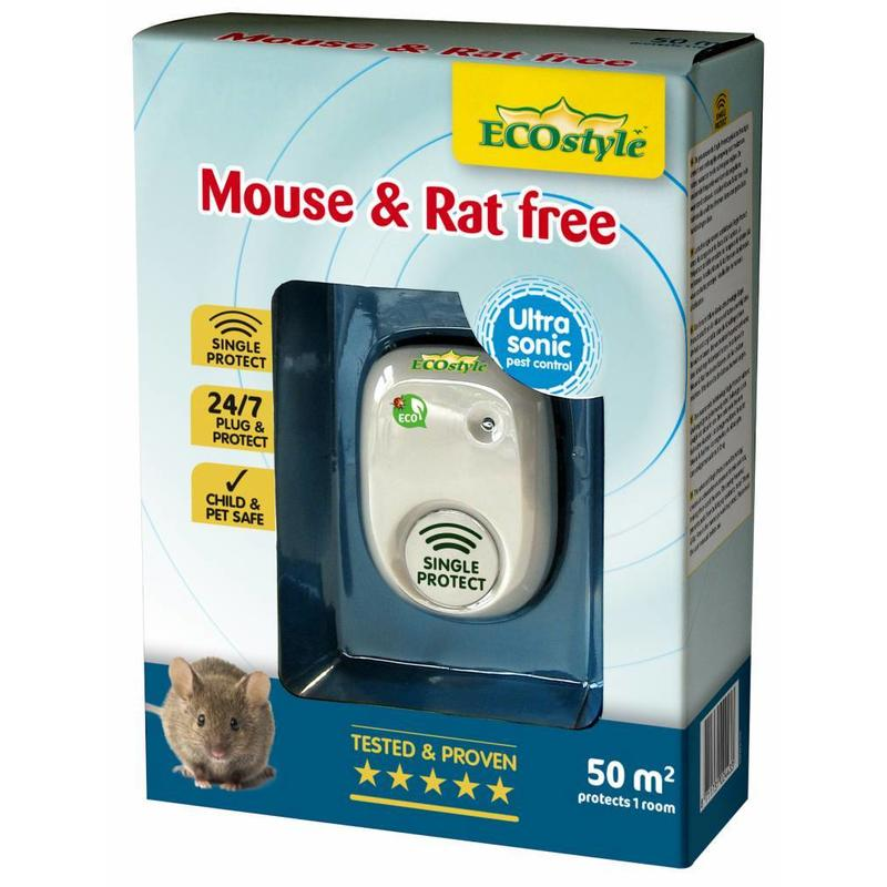 Ecostyle Mouse & Rat free (tot 50 m²)