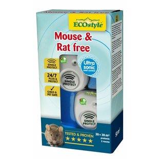 Mouse & Rat free 30+30 m² (duopack)