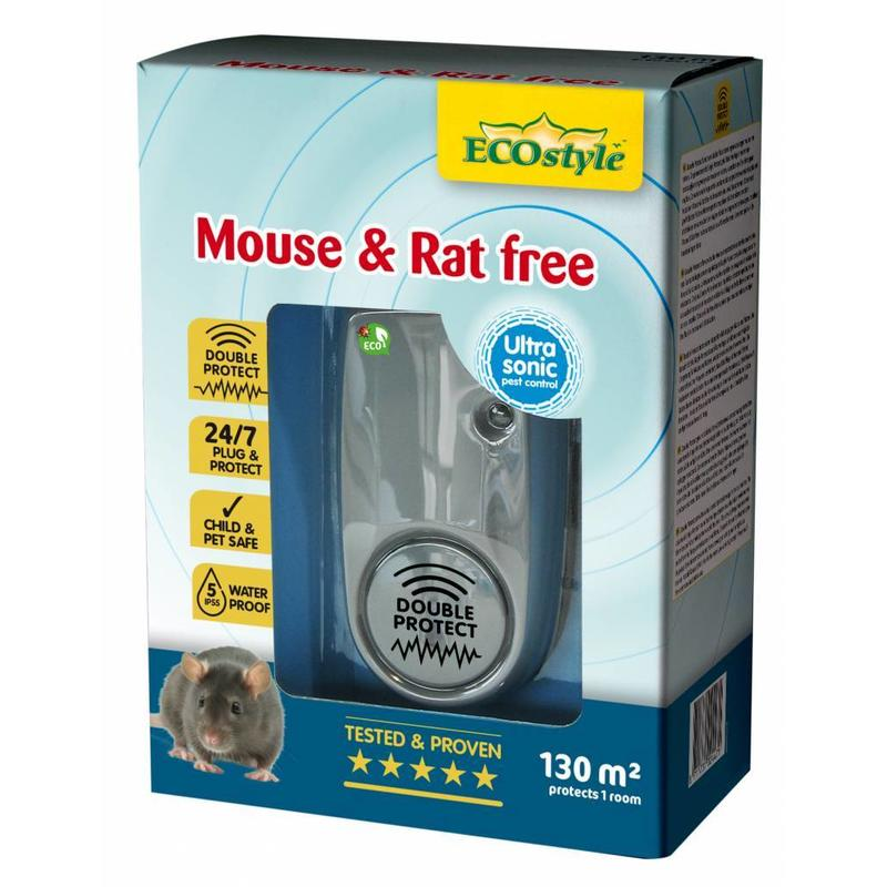 Ecostyle Mouse & Rat free X-tra (tot 130 m²)