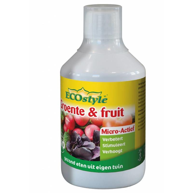 Ecostyle Groente & Fruit Micro-Actief 500 ml