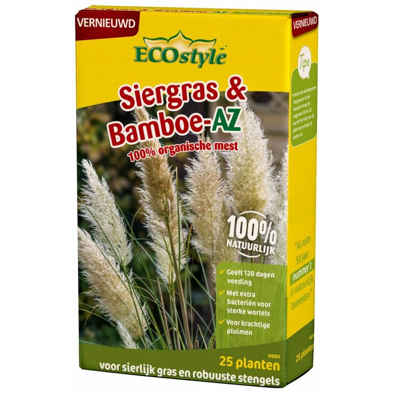 Ecostyle Bamboe & Siergras-AZ 800 gr (voor ca. 25 planten)
