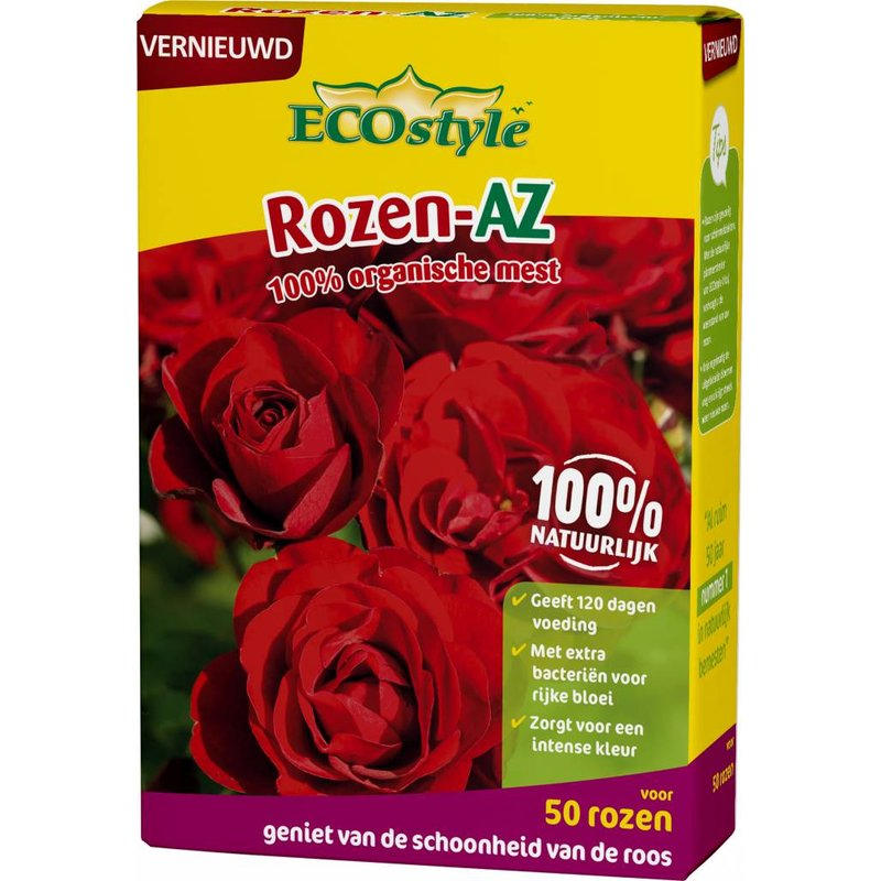 Ecostyle Rozen-AZ 1,6 kg (voor ca. 50 planten)