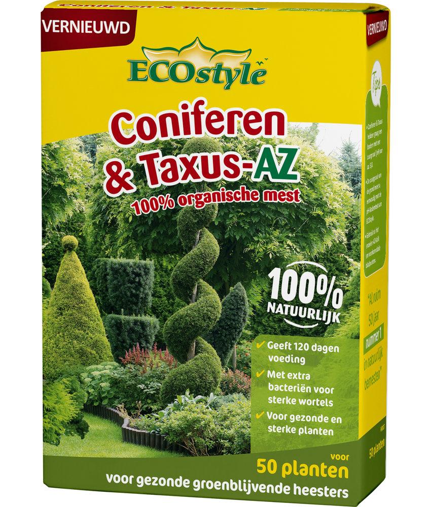 Ecostyle Coniferen & Taxus-AZ meststof 1,6 kg