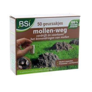 Mollen-Weg Geurzakjes 50 stuks
