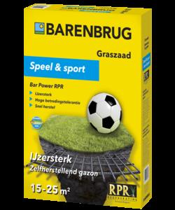 Speel en Sport 500 gr (15-25 m²)