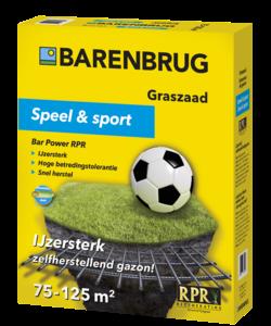 Speel en Sport 2,5 kg (75-125 m²)