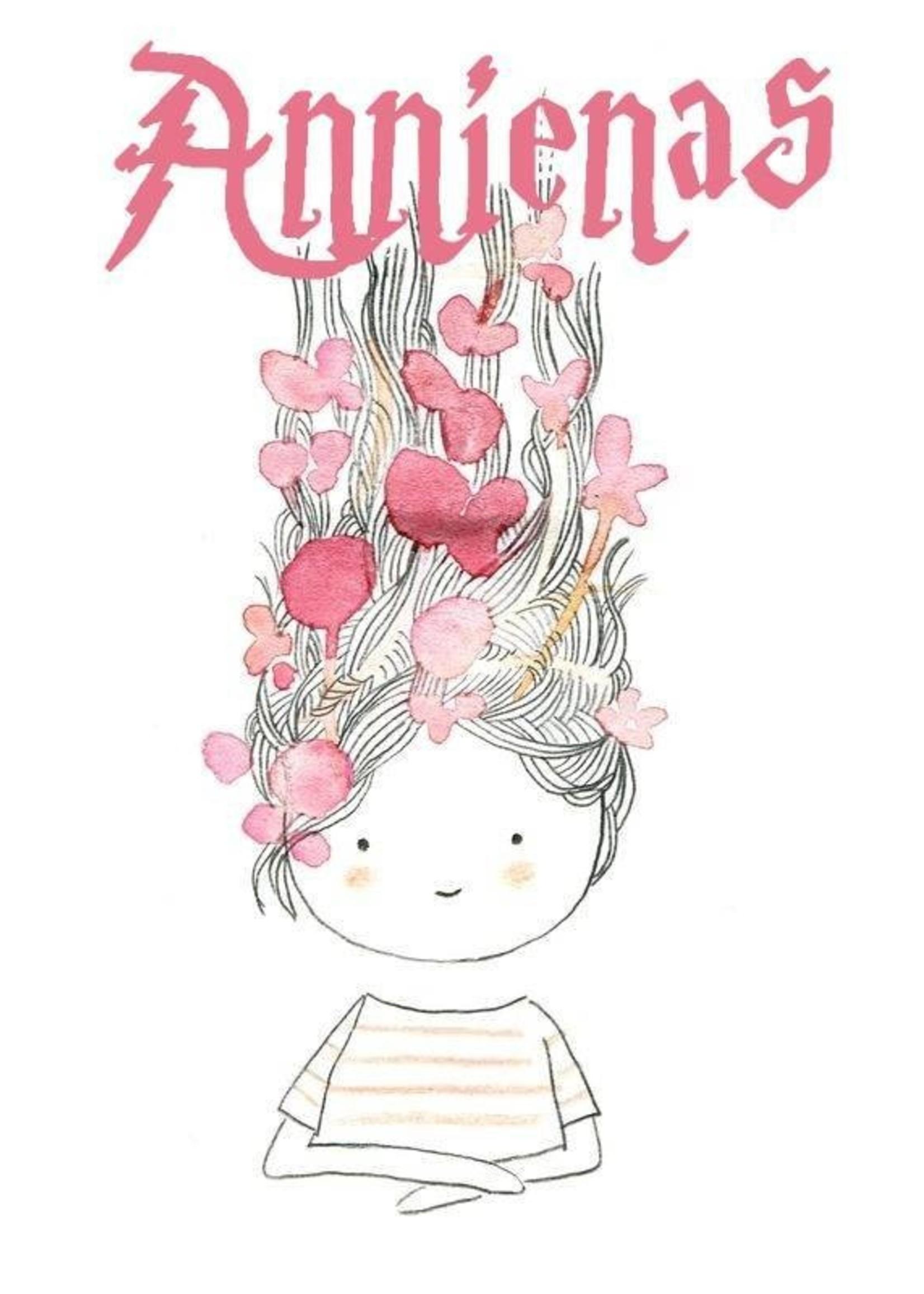 Annienas haarband met glitterstrik