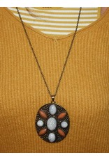 Michelle bijoux ketting met grote hanger