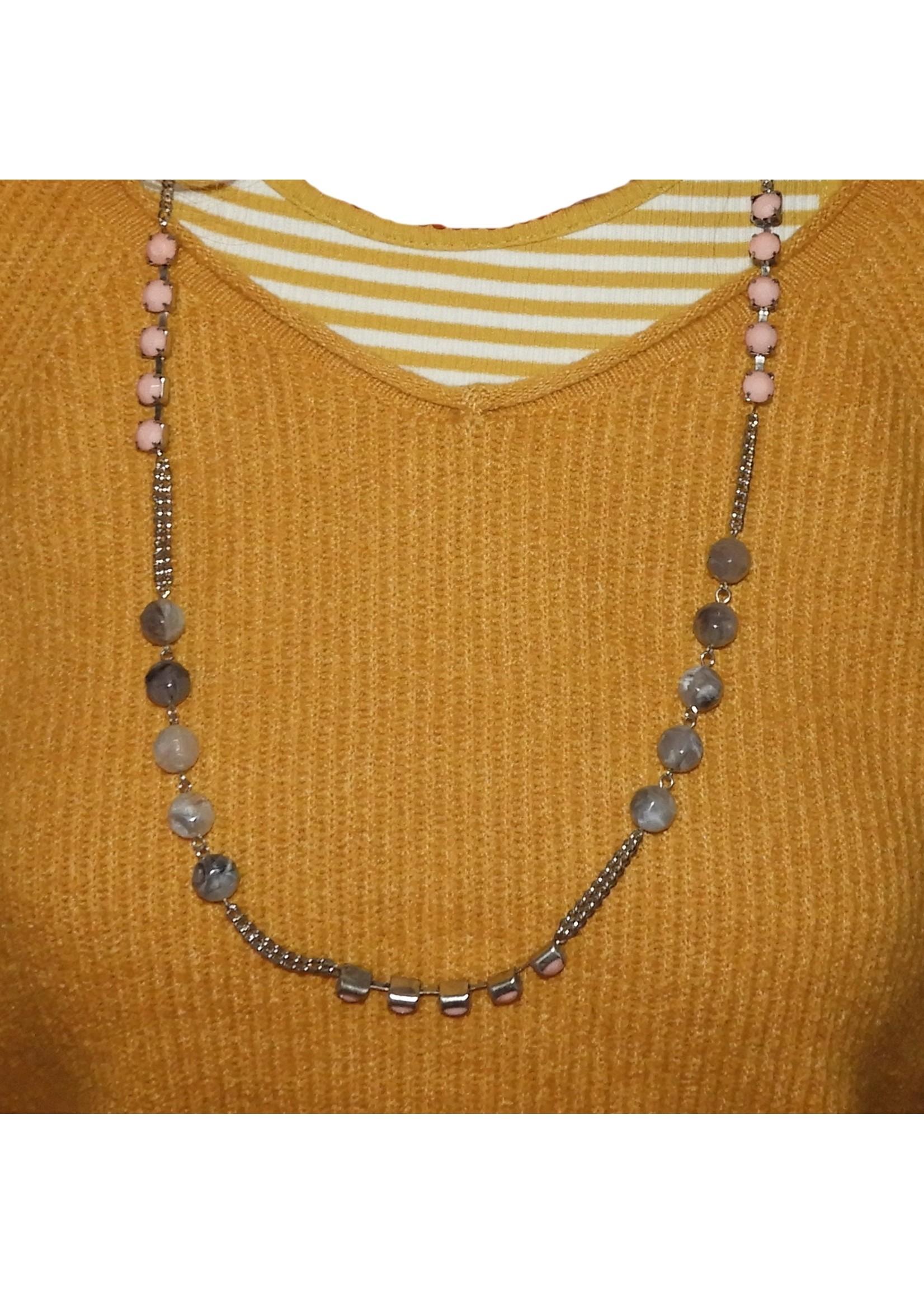 Michelle bijoux ketting met kralen