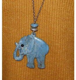 Michelle bijoux ketting met olifant