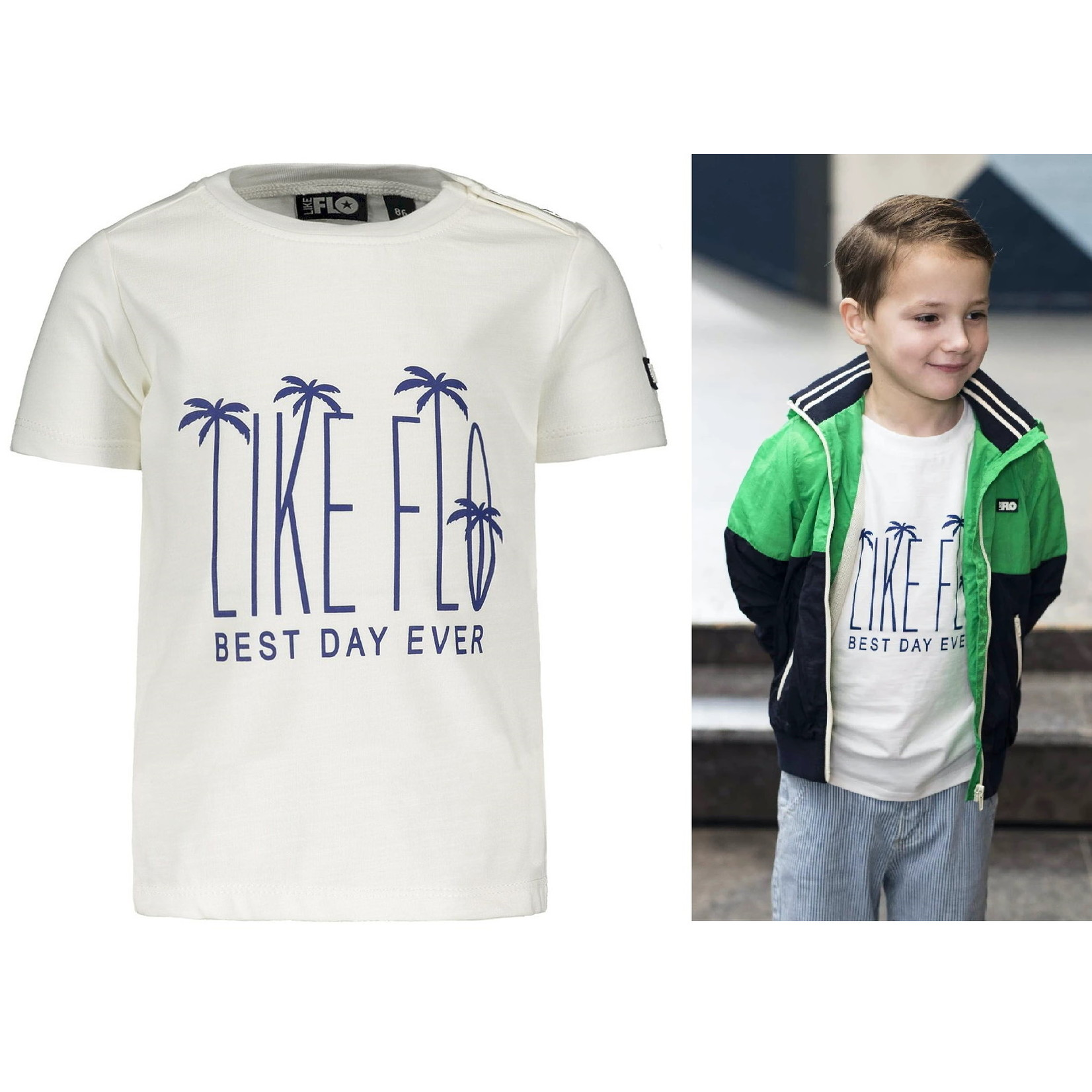 Like Flo T-shirt maat 74