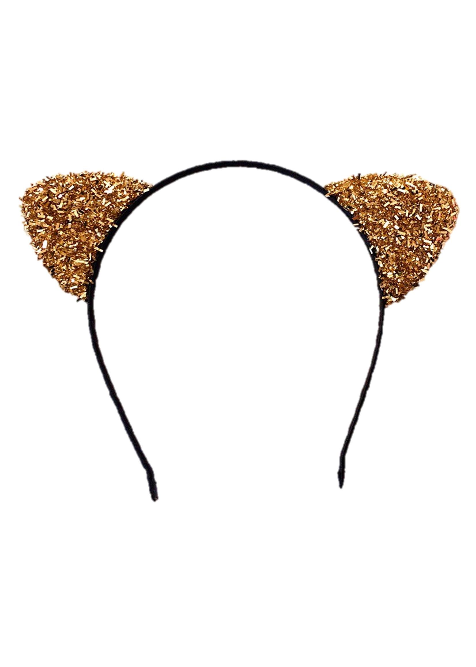 Annienas haarband met sprankelende katten oren