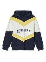 Name it hooded sweater maat 116 t/m 134/140
