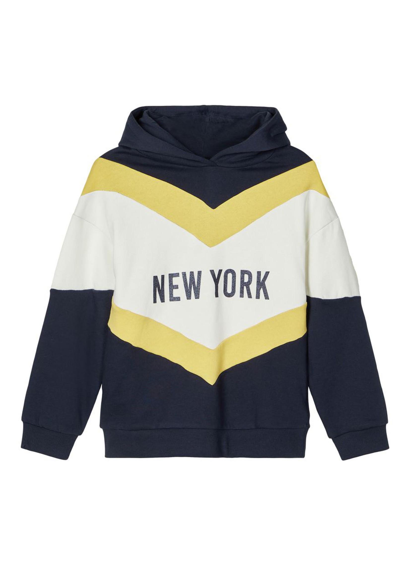 Name it hooded sweater maat 122/128 + 134/140