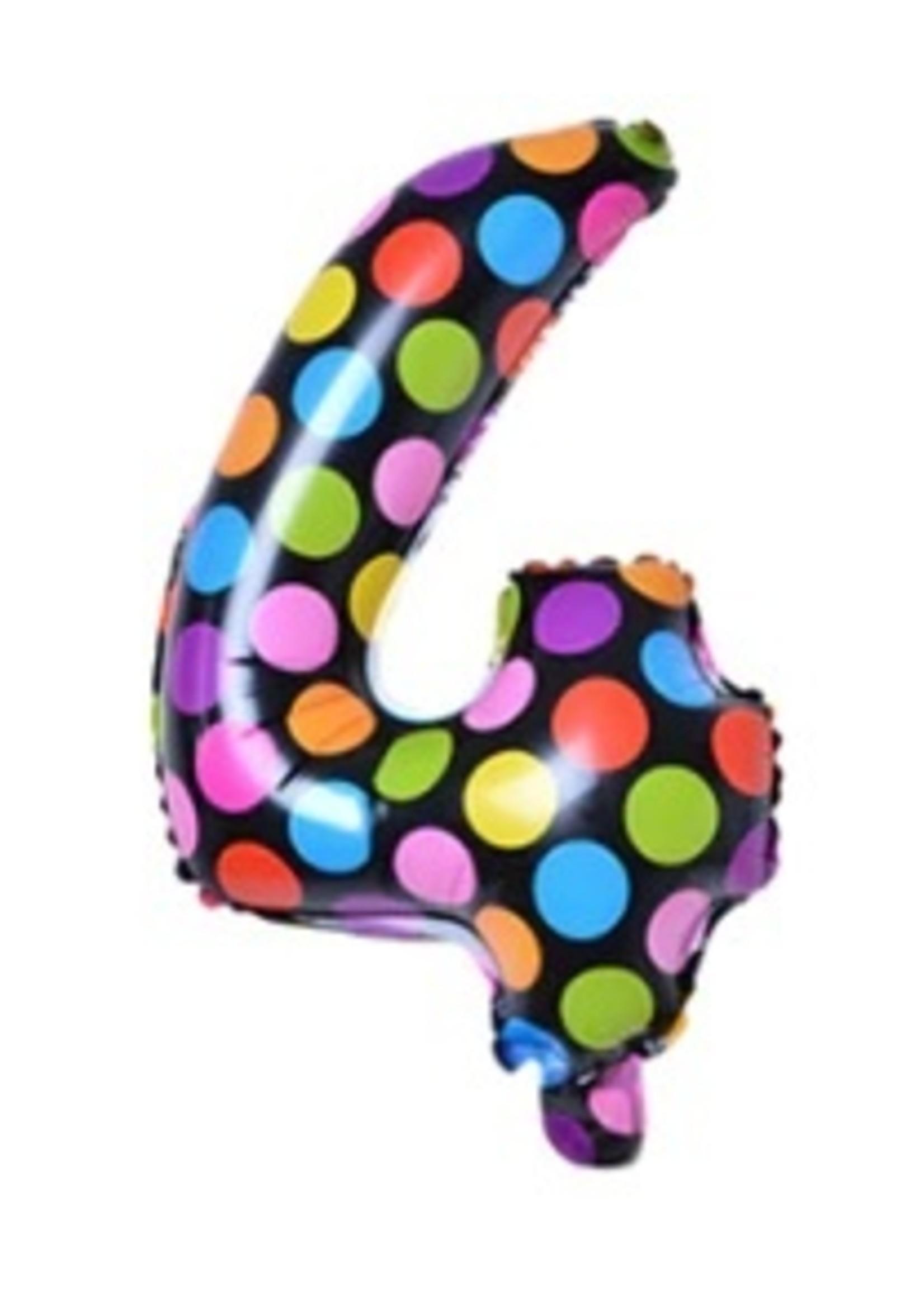 Annienas Cijfer ballon dots