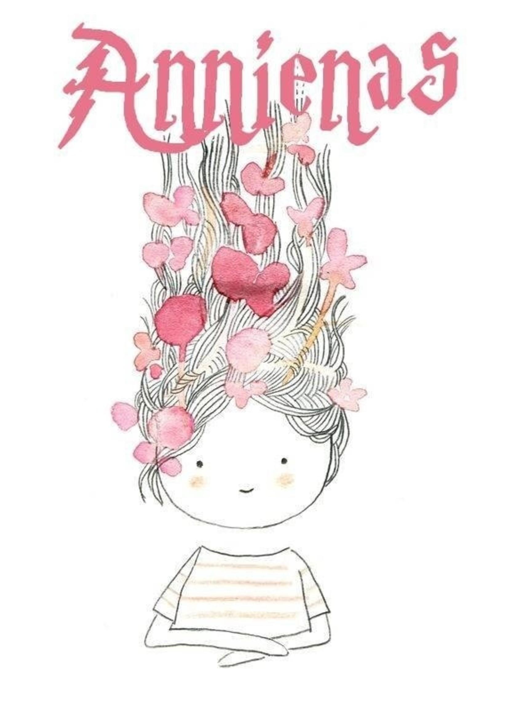 Annienas haarclip met lovertjes