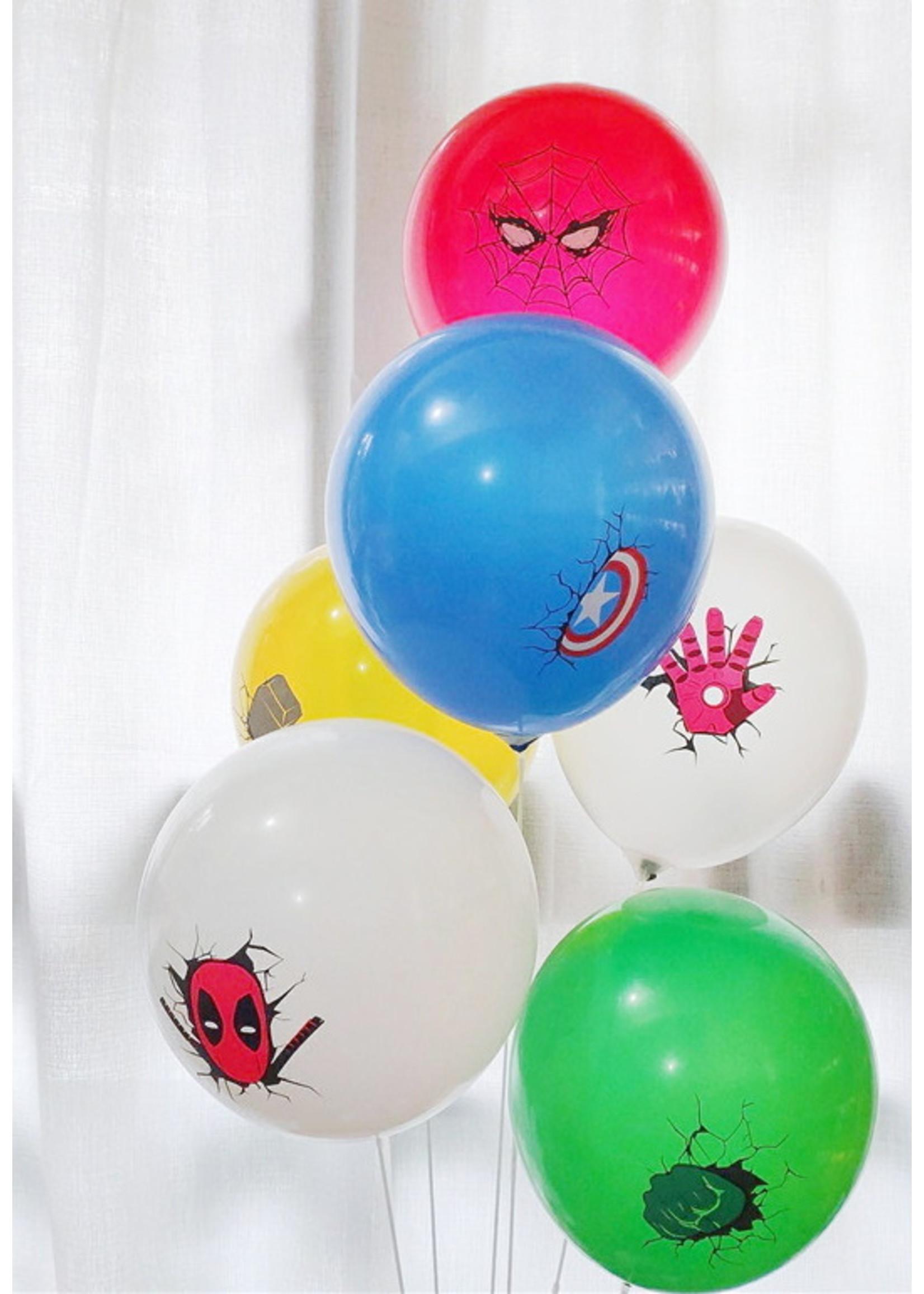 Annienas super hero ballon