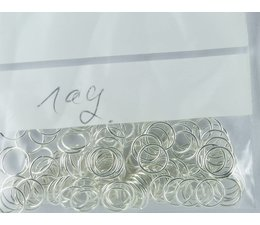 Binderringe offen 19703 Metall 8mm Preis für 10 gramm