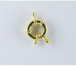 Federringe 21502 vergoldet 15mm VE=5 Stückpreis