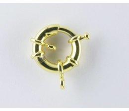 Federringe 21504 vergoldet 21mm VE=5 Stückpreis