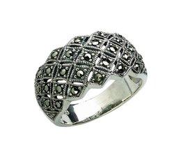 Silber mit Markasiten 8653 12,5mm nur Gr 54