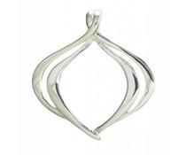Silberanhänger ohne Stein