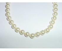 Perlenkette  45 cm große Perlen W6017