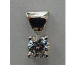 Ohrringe Silber rhod. Zirkonia W66049