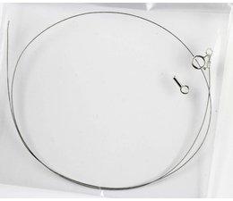 Stahlbändchen mit Silberverschluss 9090 ca. 40cm