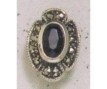 Ohrring Markasit Amethyst P1159