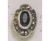 Ohrring Markasit Opal P1160