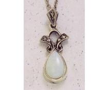 Anhänger Markasit Opal Granat Grünachat synth. Aqua oder Onyx oderBernstein oder Amethyst P1349