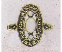 Ring Markasit Amethyst oder Opal  oder Granat oder Onyx P1099