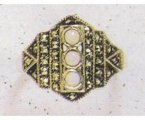 Ring Markasit Onyx P1084