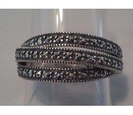 Ring Silber Markasit P1045
