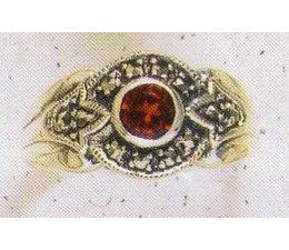 Ring Silber Markasit Peridot P1047