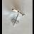 W15281  Ohrringe Schmetterling  Silber 925 Zirkonia
