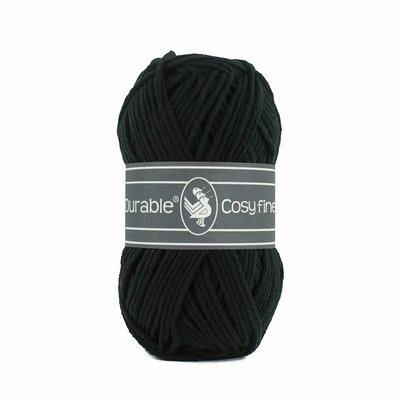 Durable Cosy Fine Black (325)