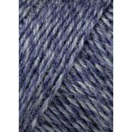 Lang Yarns Jawoll Superwash Jeansblauw/blauw (258
