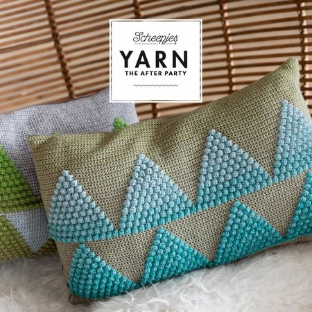 Scheepjes Yarn afterparty 17 Wild Forest Cushions
