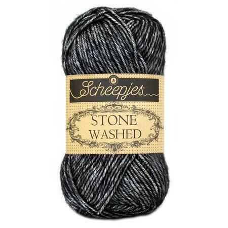 Scheepjes Stone Washed Black Onyx (803)