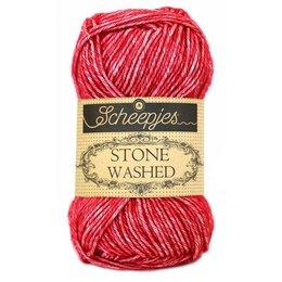 Scheepjes Stone Washed 807 - Red Jasper