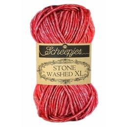 Scheepjes Stone Washed XL 847 - Red Jasper