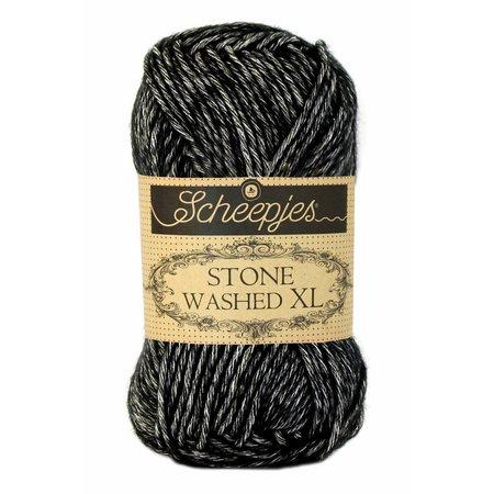 Scheepjes Stone Washed XL 843 - Black Onyx