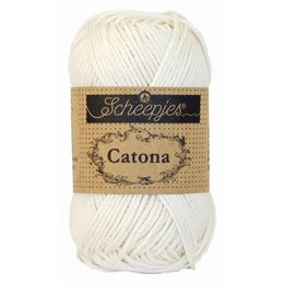 Scheepjes Catona 25 gram Bridal White (105)