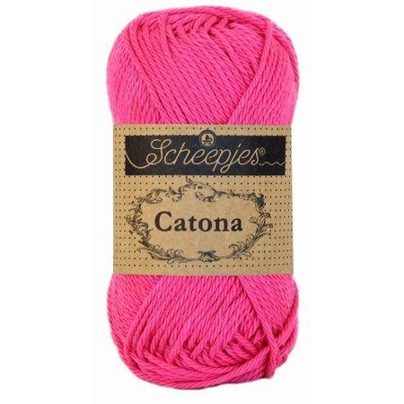 Scheepjes Catona 25 gram - 114 - Shocking Pink