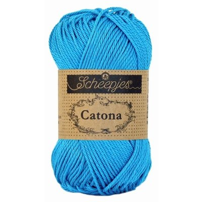 Scheepjes Catona 25 gram - 146 - Vivid Blue