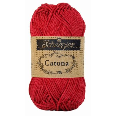 Scheepjes Catona 25 gram Scarlet (192)