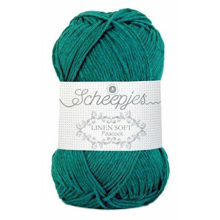 Scheepjes Linen Soft 608 - jade