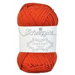 Scheepjes Linen Soft 609 - oranje